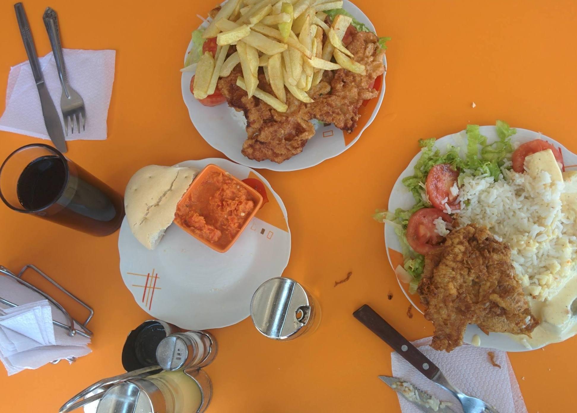 Almoço em Arica