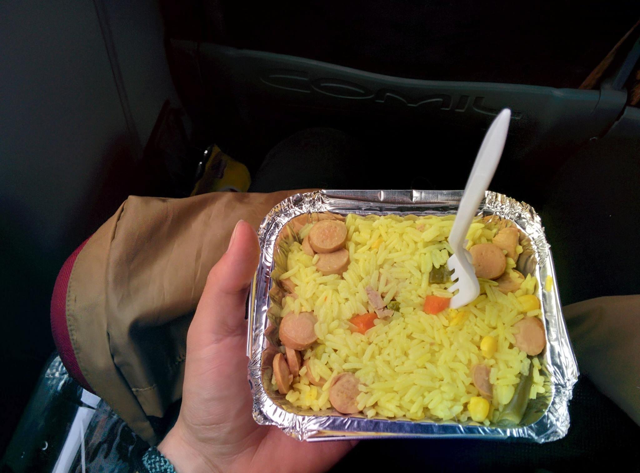 Almoco onibus