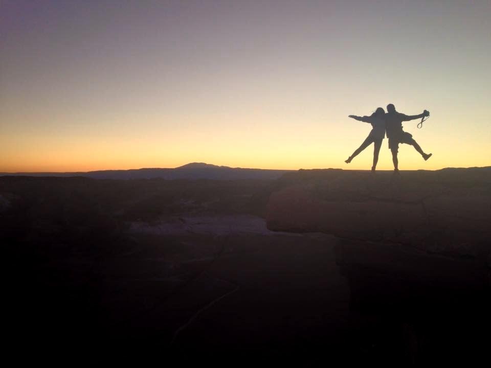 Nossa foto clichê mais bonita. Pedra do Coyote