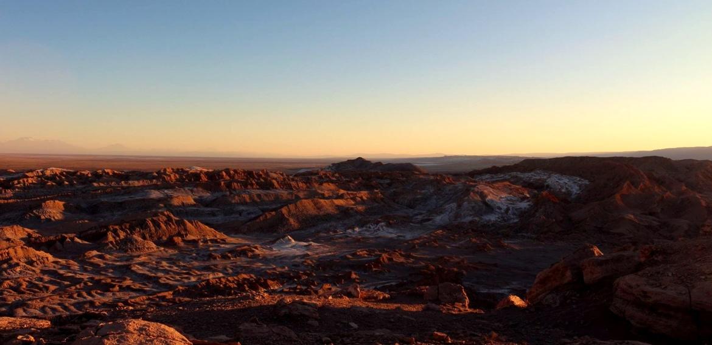 Saímos da Lua para chegar em Marte. Pedra do Coyote