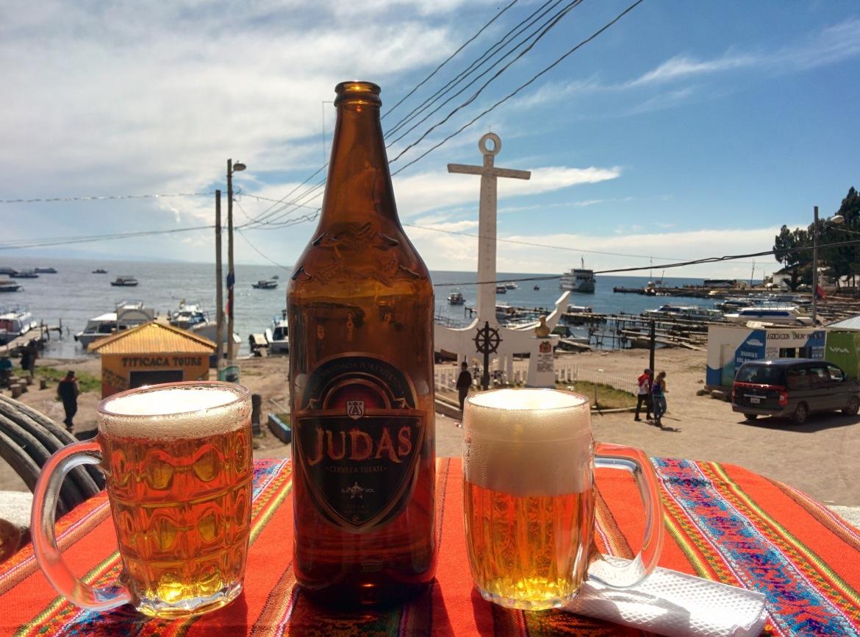 A última cerveja da viagem =/
