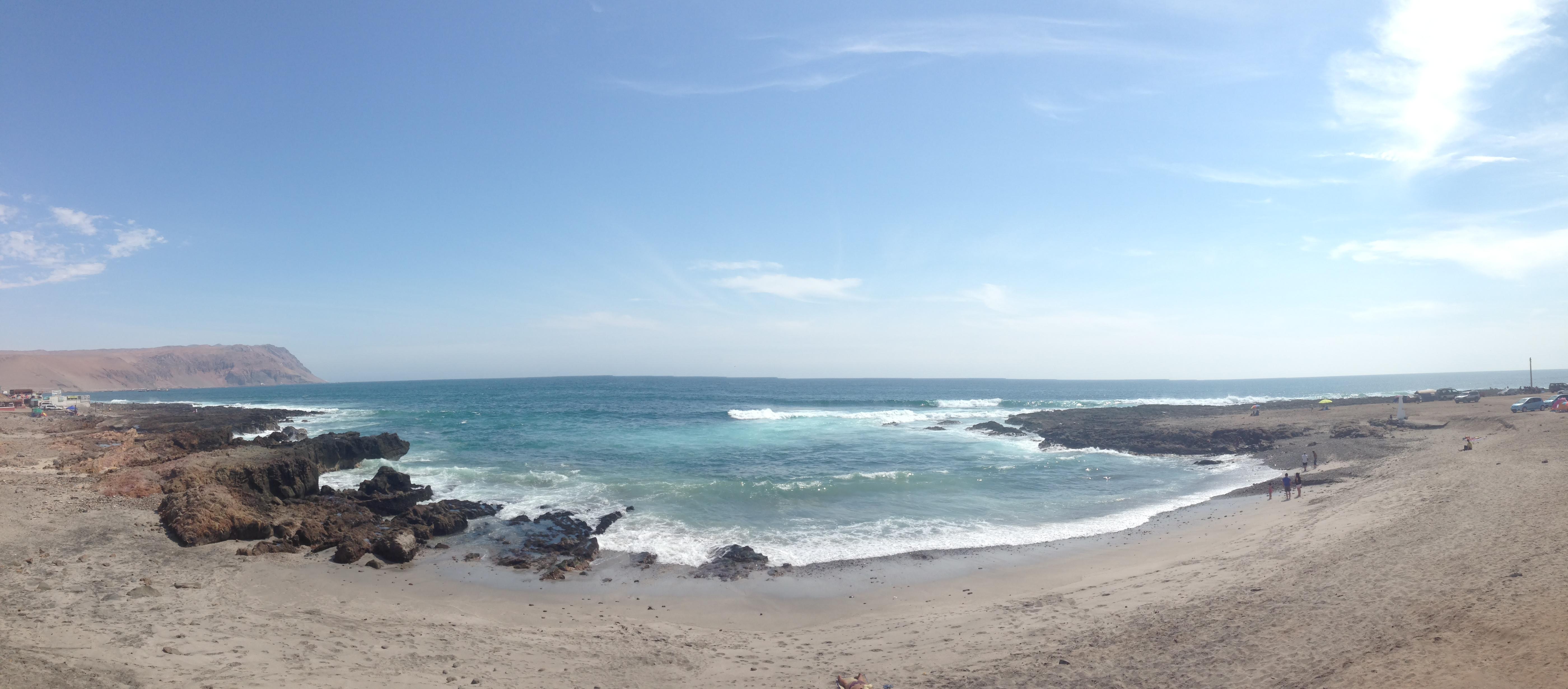 Praias de Arica