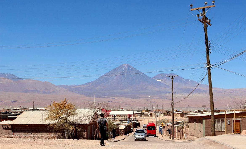 Me familiarizando com o Vulcão Licancabur