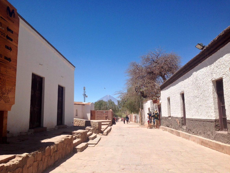 Las calles de San Pedro de Atacama
