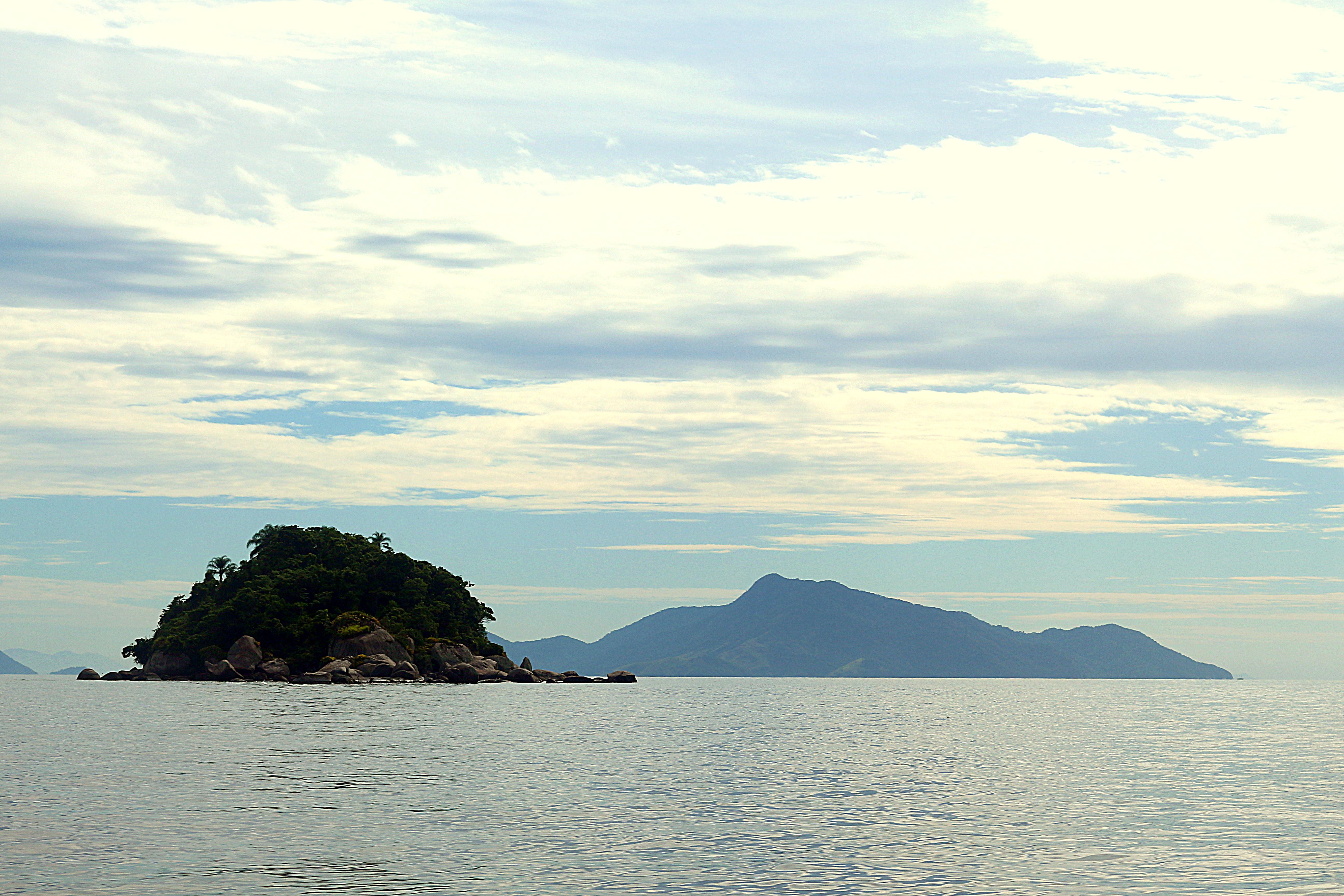 Vista do Barco de Volta para Angra dos Reis