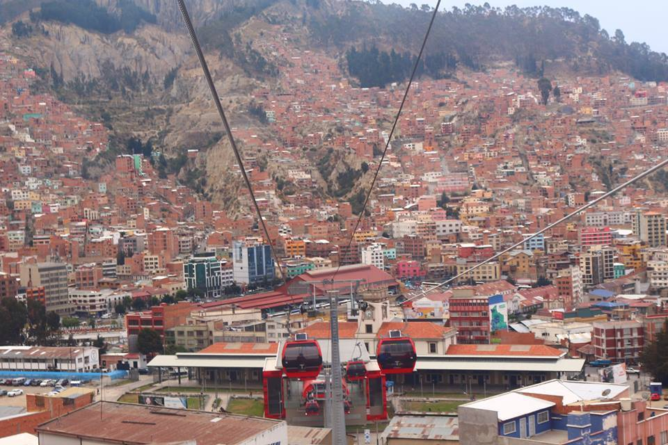 Telefericos de La Paz
