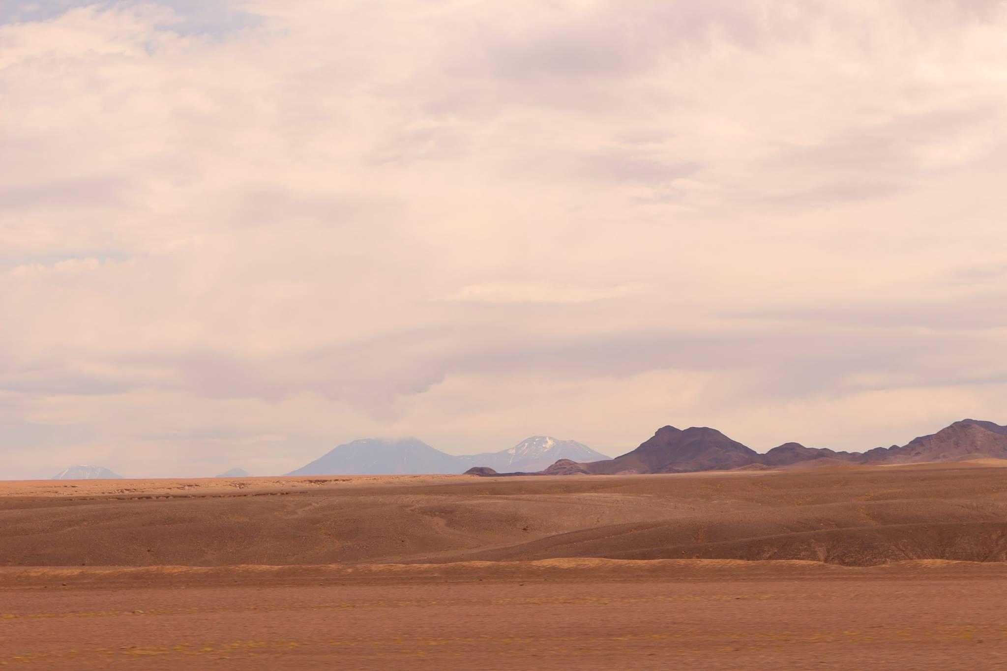 Estrada San Pedro de Atacama
