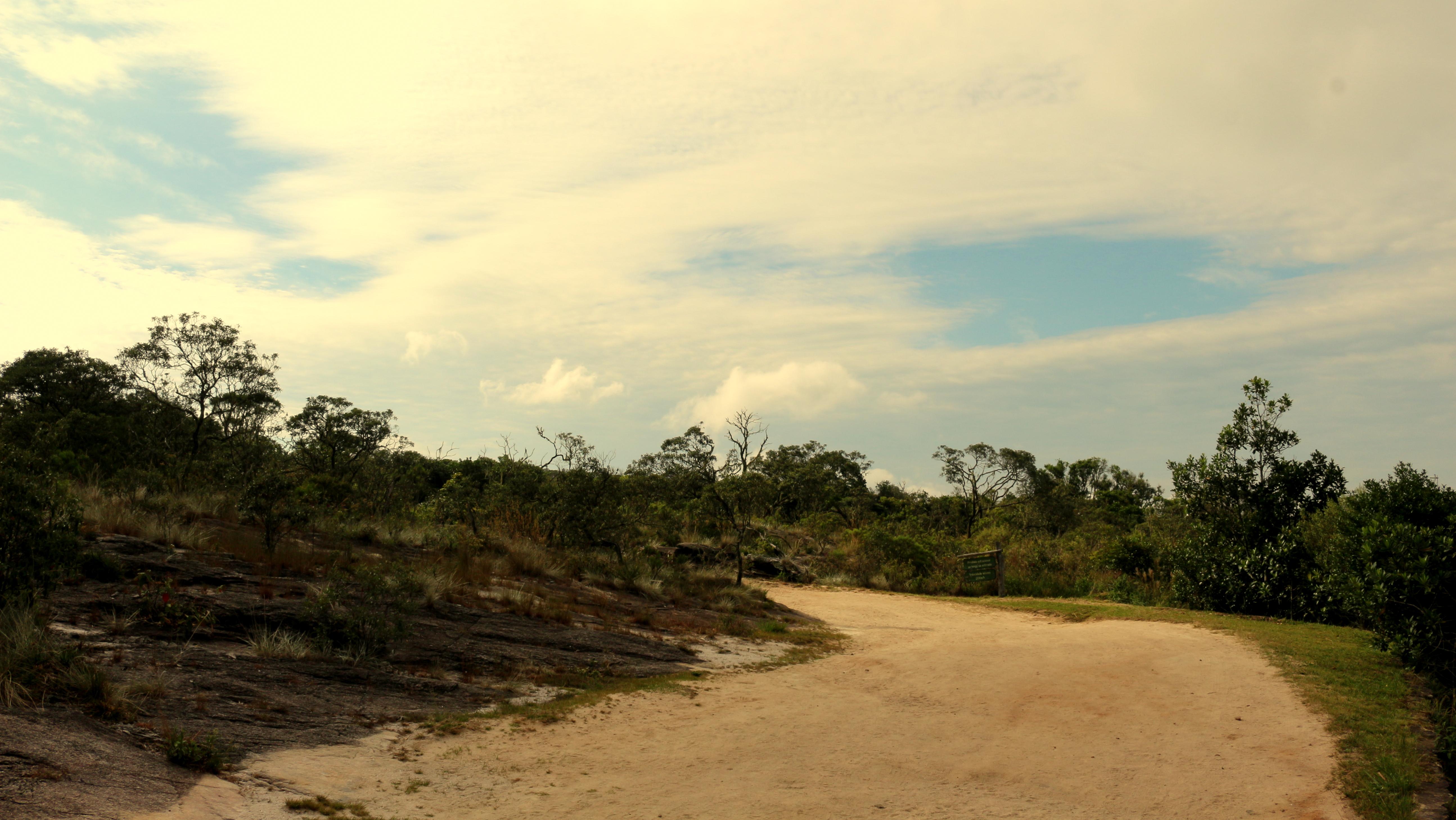 Mais 2km de caminha até o início da trilha