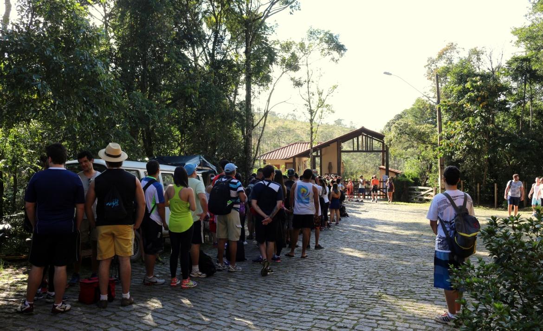 Entrada para o Parque Estadual de Ibitipoca