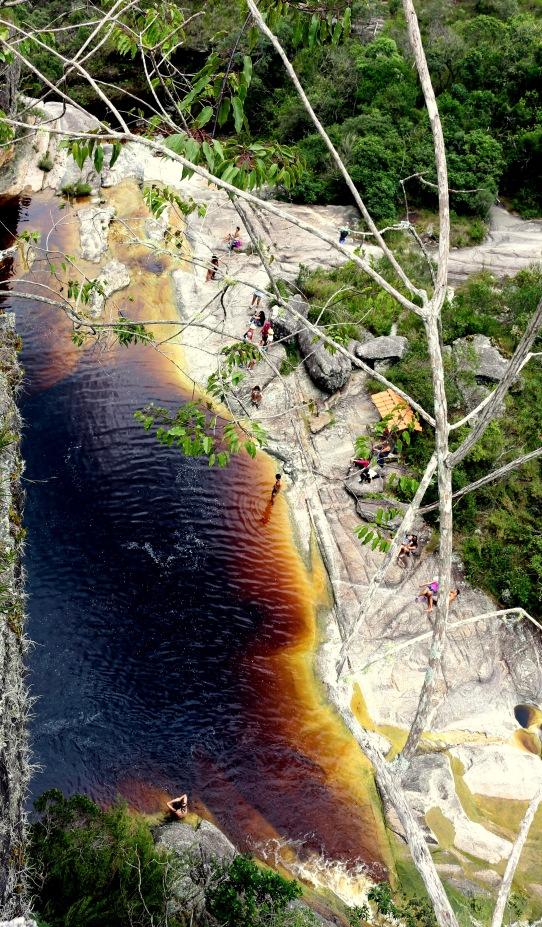 Vista de cima do Lago das Miragens