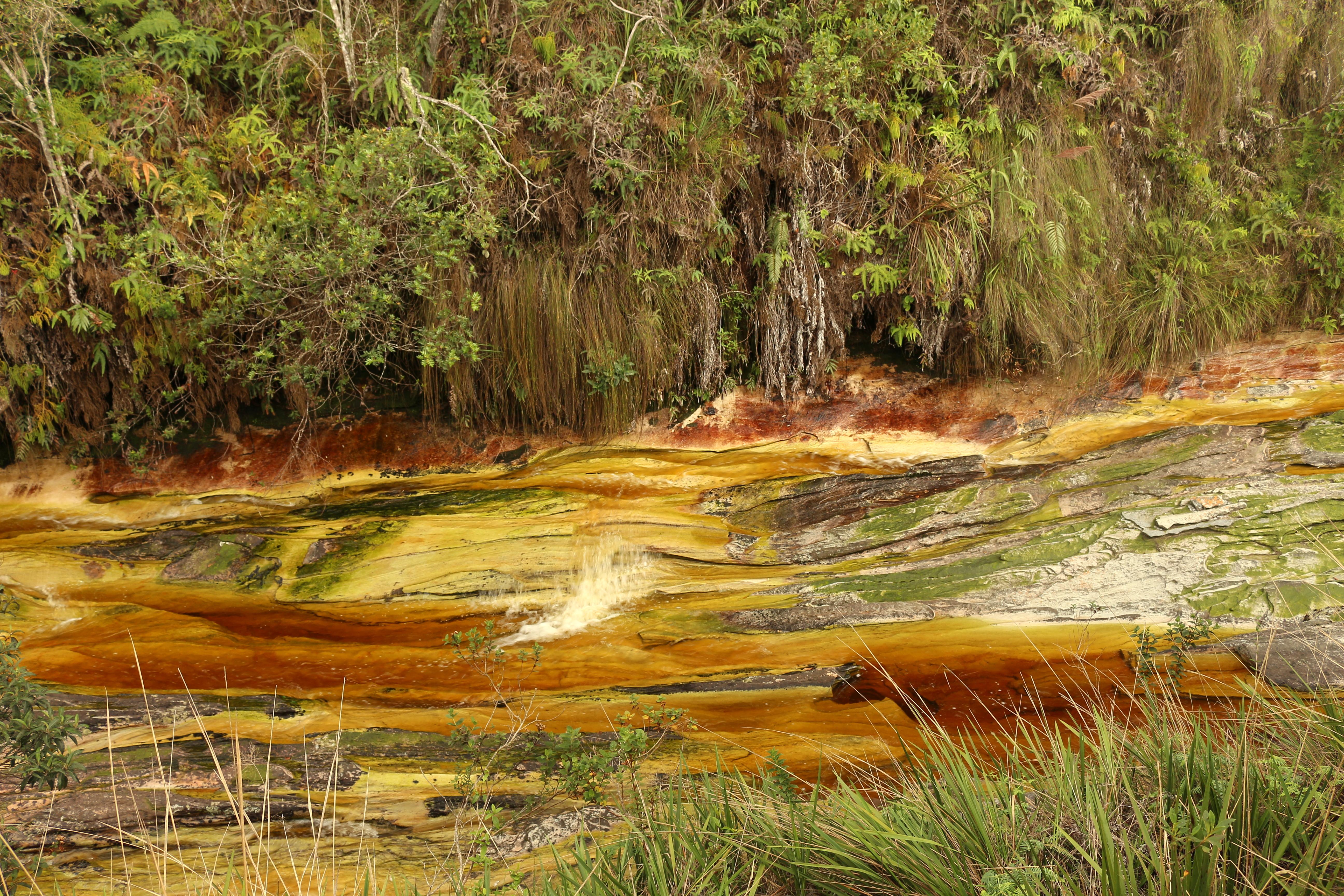 A água de Ibitipoca parece uma miragem