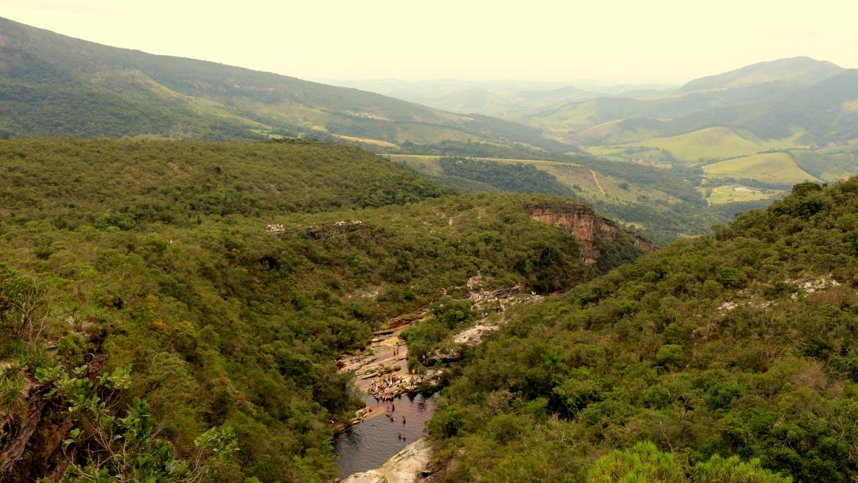 Vista do Mirante do Gavião