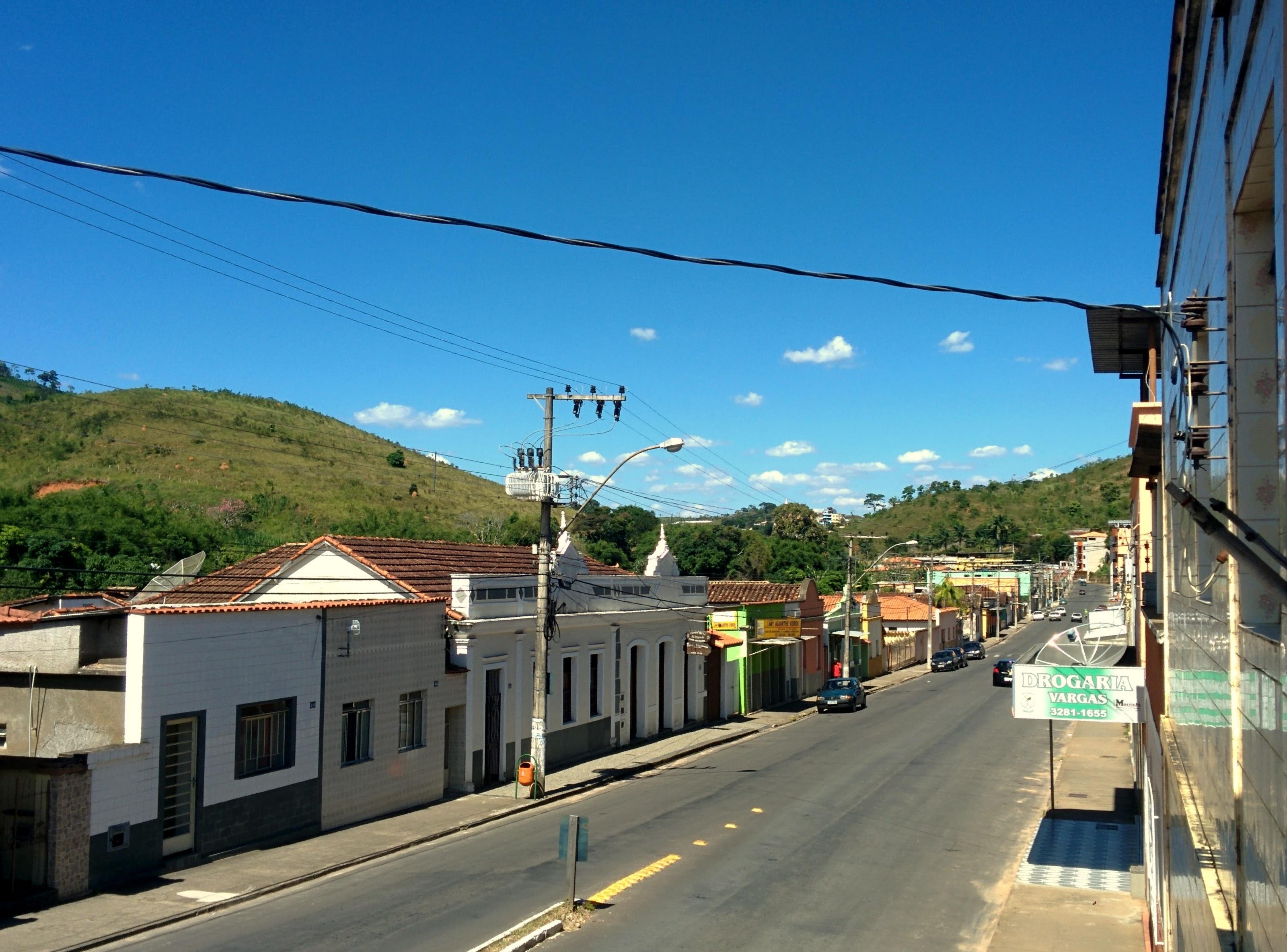Vista da GIGANTESCA Lima Duarte