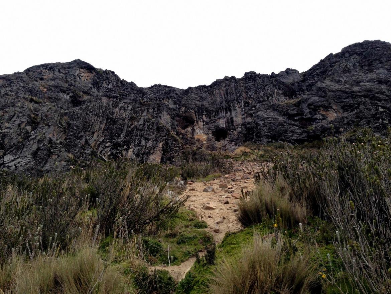 A partir daqui, é subir a montanha