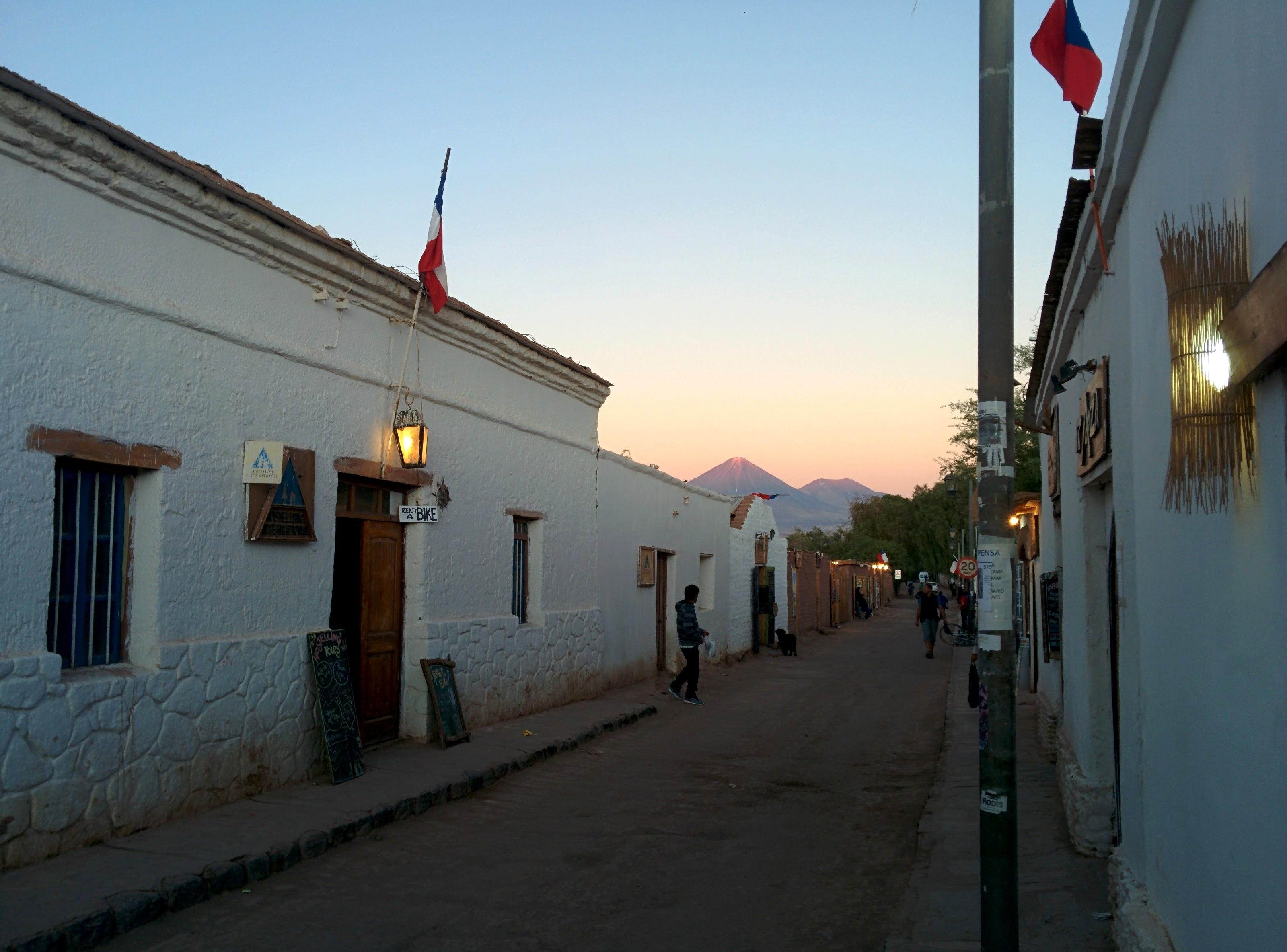 A famosa San Pedro de Atacama