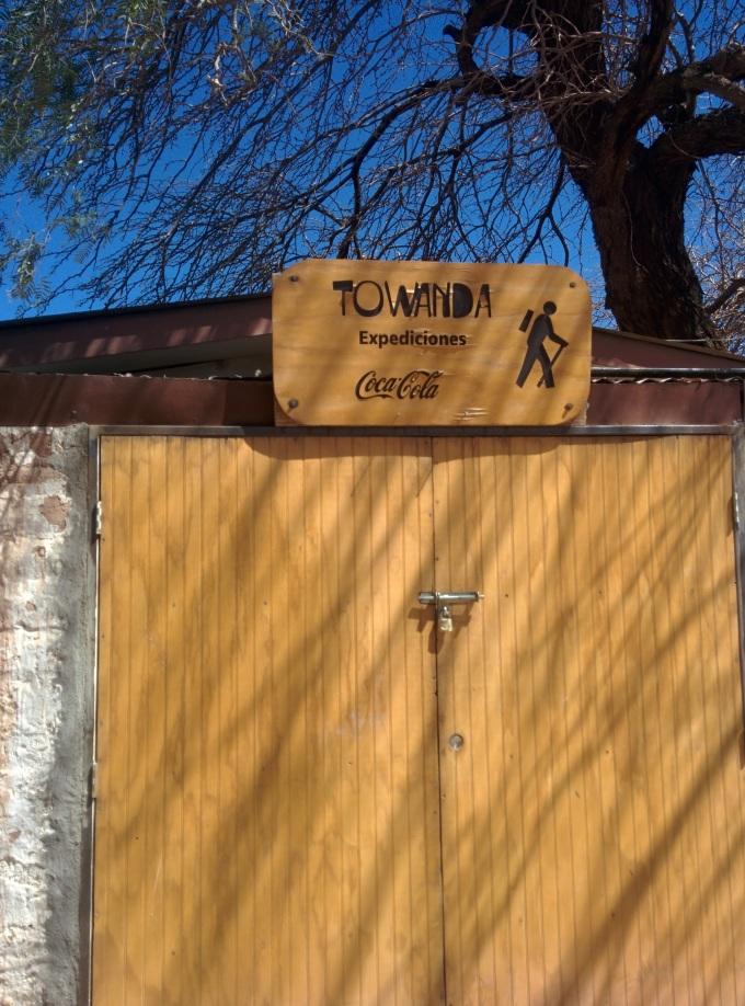 Towanda, agência da Laura