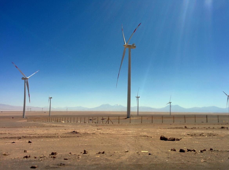 Trajeto de Calama até San Pedro de Atacama.