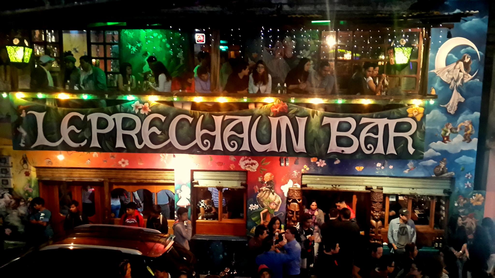O Famoso Leprachaum Bar (foto da internet)