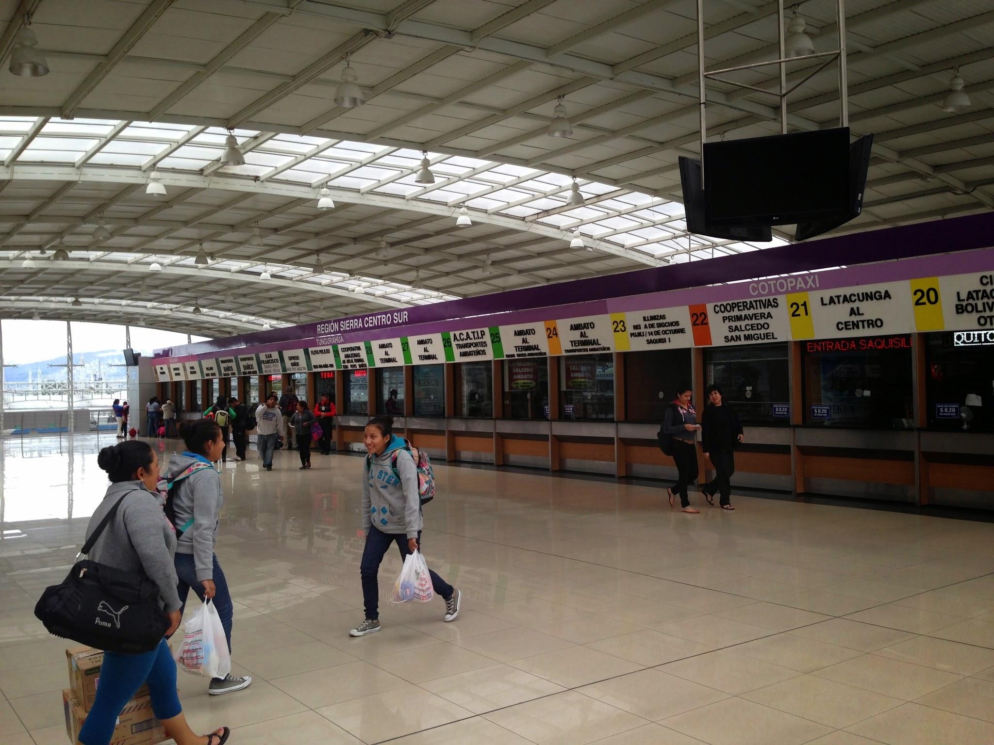 Terminal Quitumbe em Quito
