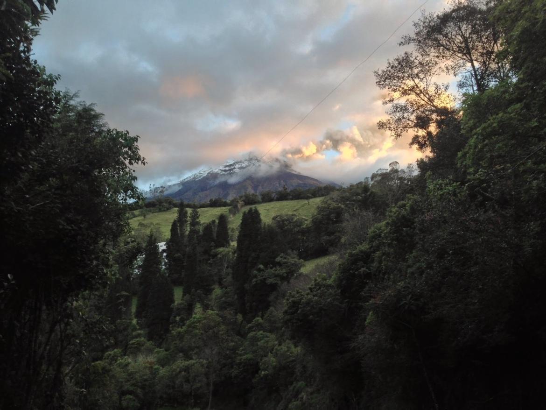 Vista da trilha para o Balanço do Fim do Mundo
