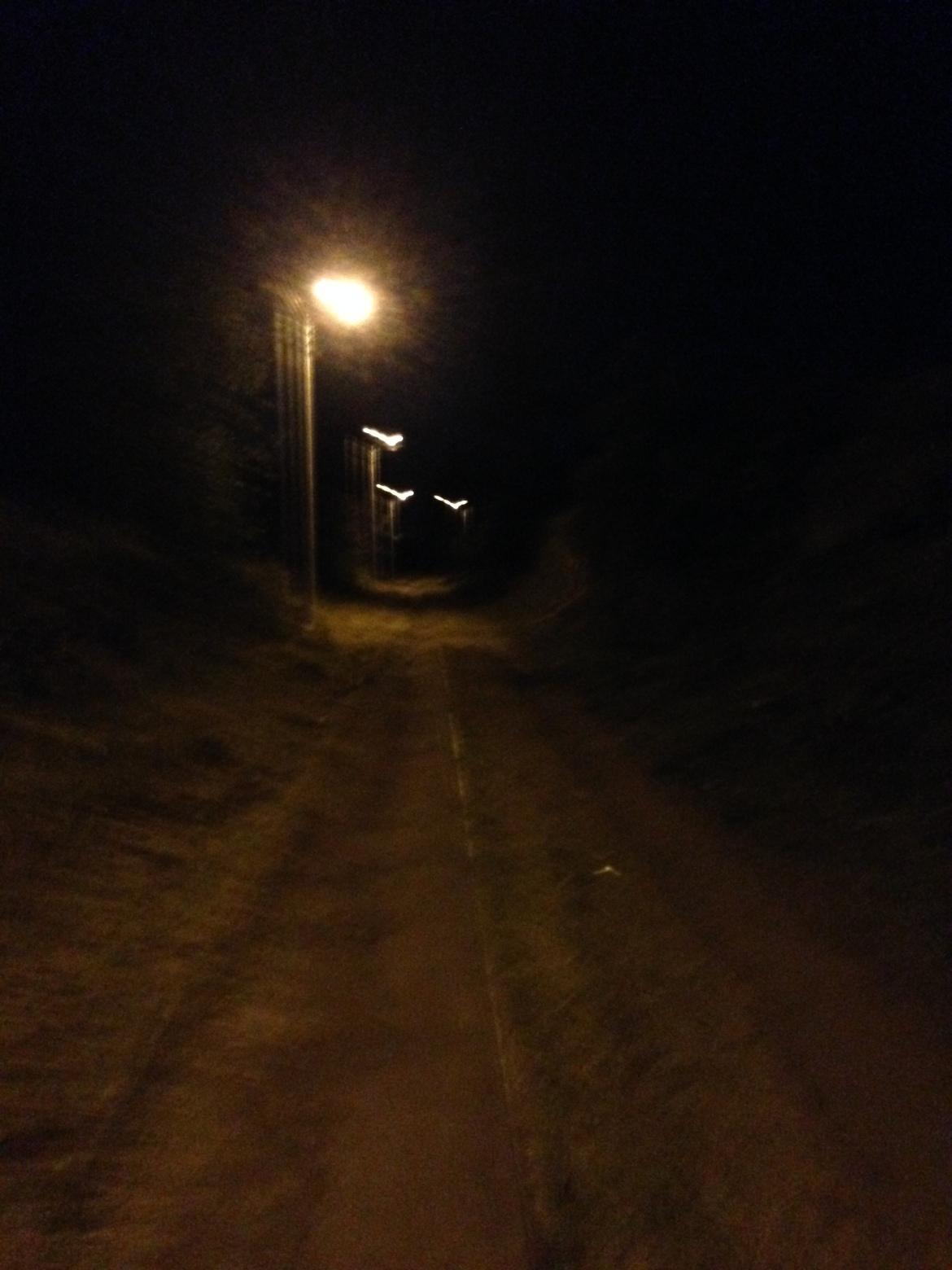 Caminhada de volta ficando tensa