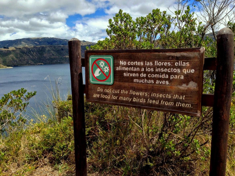 Começo da trilha com um dos melhores avisos que já li :D
